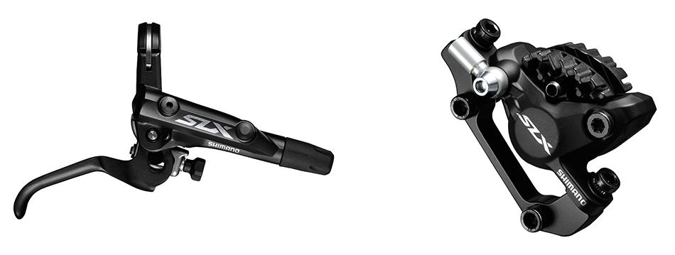 Kotoučové brzdy Shimano SLX BR-M7000 s chlazením - přední + zadní