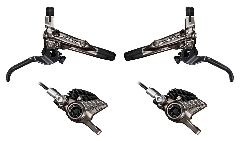 Kotučové brzdy Shimano XTR Trail BR-M9020 - přední + zadní 2015