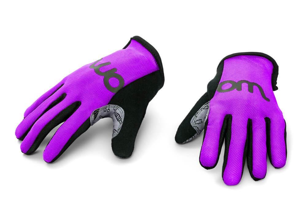Dětské rukavice WOOM - vel. 5 - Fialová 3dcf140601