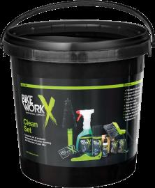 Sada čistících pomůcek BikeWorkX Clean set