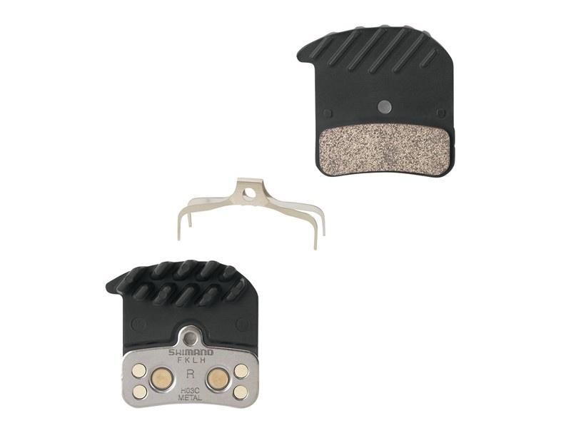 Brzdové destičky Shimano M640/820 H03C metal + chlazení