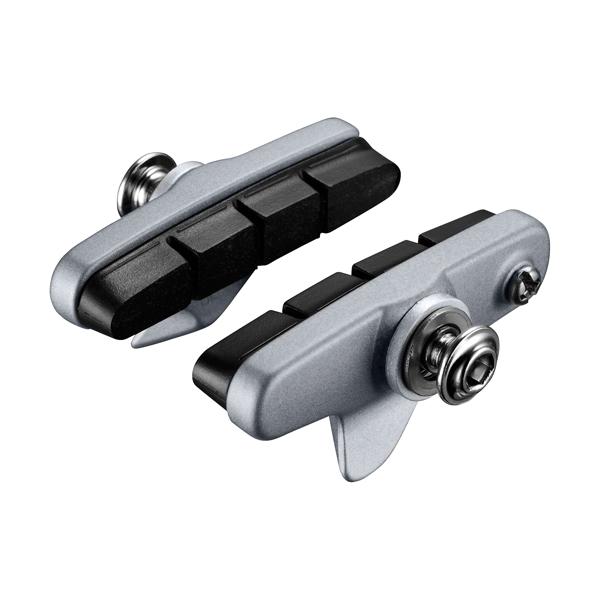 Brzdové špalky - gumičky Shimano BR-5800 - R55C4 - stříbrné
