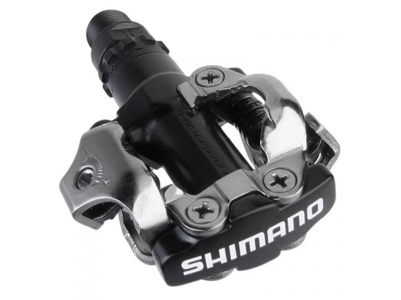Pedály Shimano PD-M520 + kufry Černá, SPD