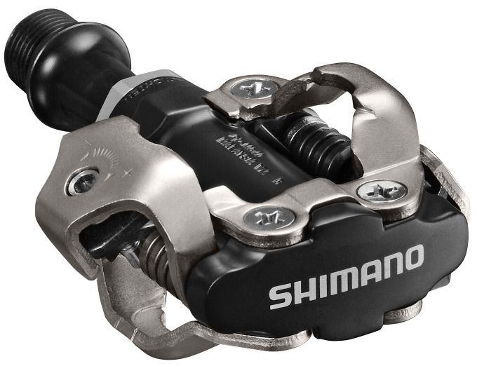 Pedály Shimano SPD PD-M540, bez odrazek - černé