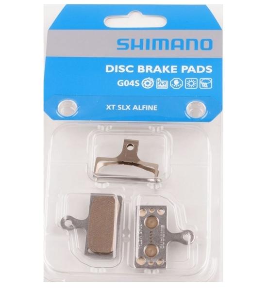 Brzdové destičky Shimano G04S kovové