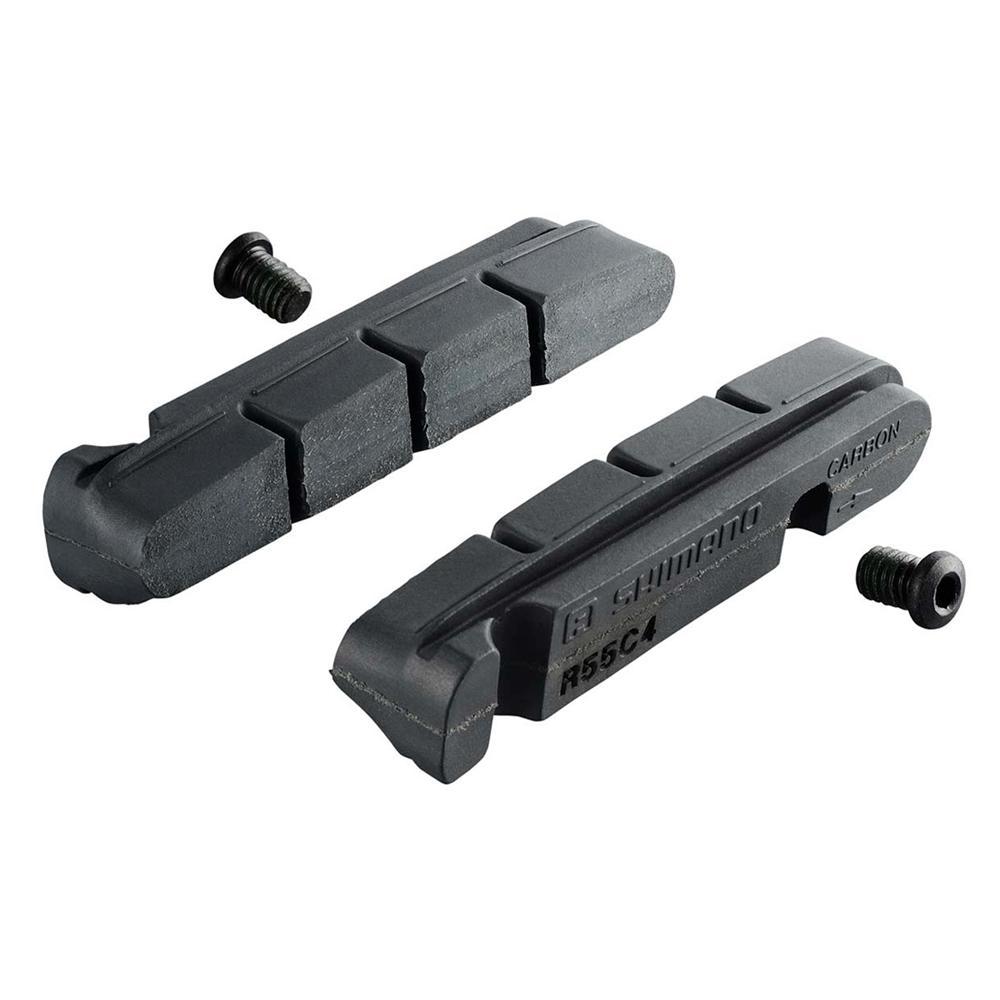 Brzdové špalky - gumičky Shimano Ultegra BR-6800 / Dura Ace BR-9000 - R55C4 - Carbon