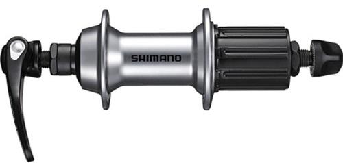 Zadní náboj SHIMANO TIAGRA FH-RS400 28děr - stříbrná