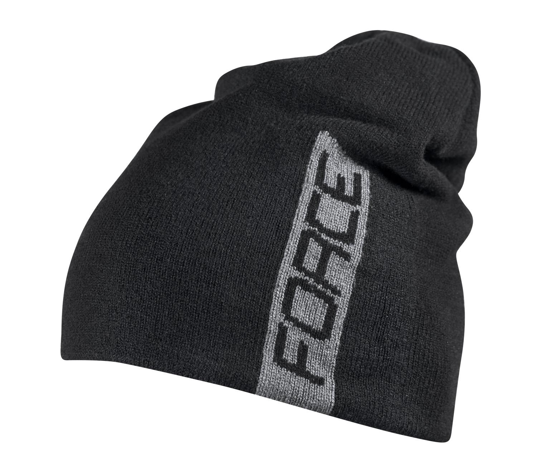 15927f0b7ae čepice zimní FORCE ELF pletená černá