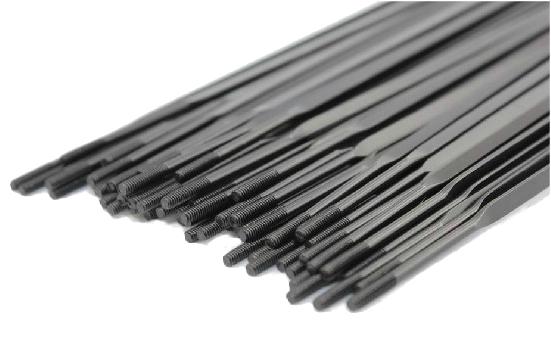 Drát 2mm 254 ploché černé nerez