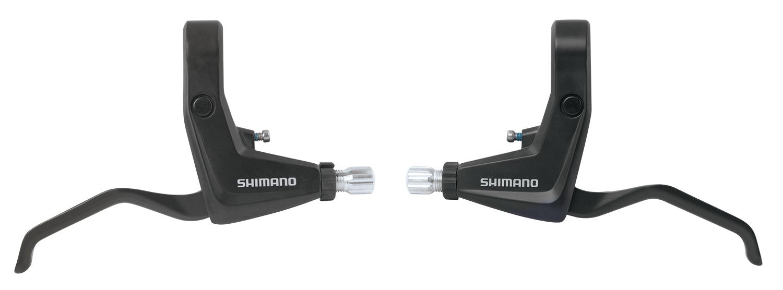 SHIMANO brzdová páka ALIVIO BL-T4000 pro V-brzdu pár 2 prstá černá