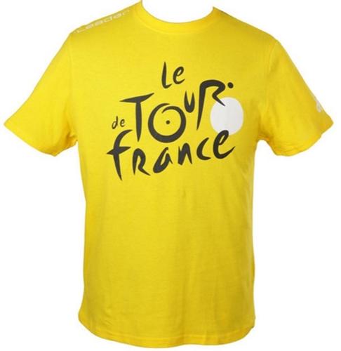 triko krátké pánské Tour de France LEADER žluté, vel. M