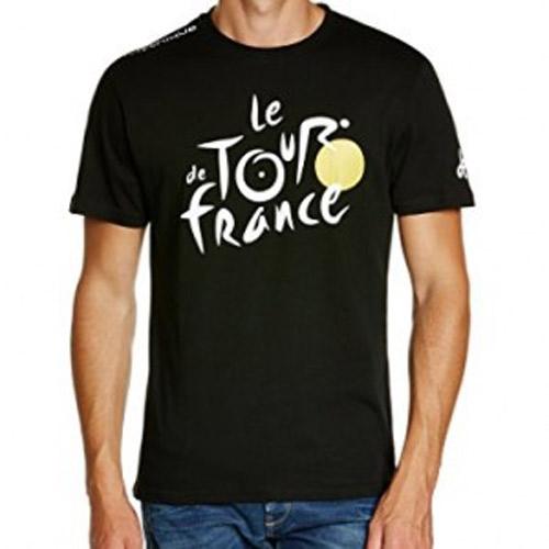 triko krátké pánské Tour de France LEADER černé, vel- L