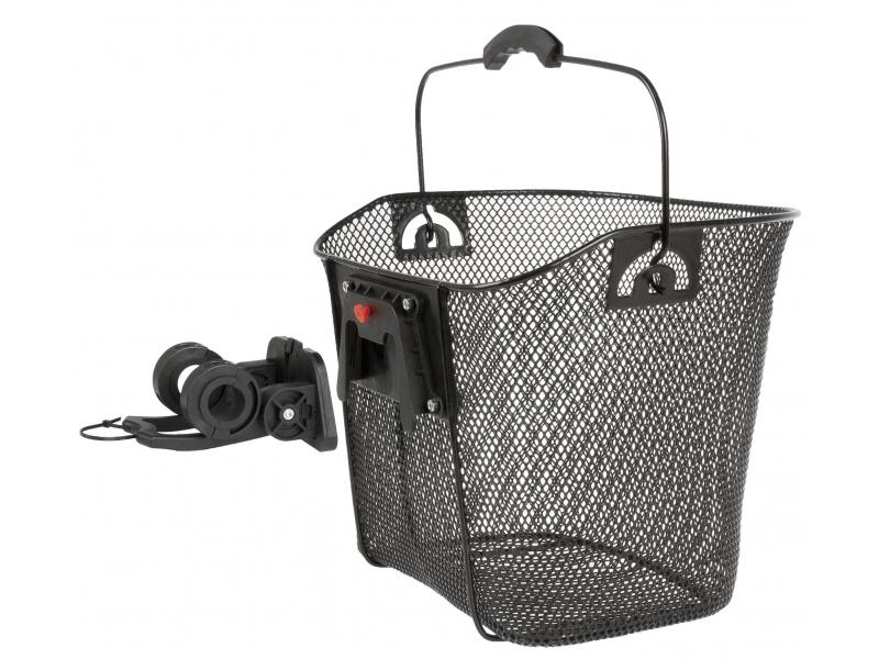 koš Ventura klip 22.2-31.8mm na řidítka černý