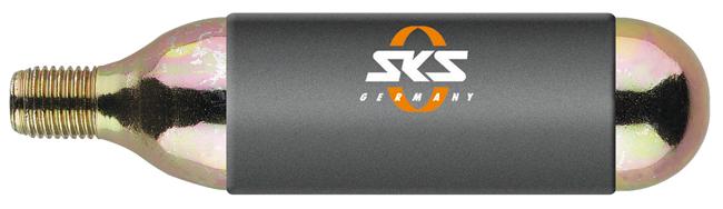 SKS CO2 bombička pre Airgun (16g), so závitom UNI , 2016