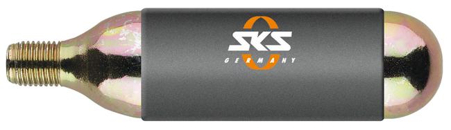 SKS CO2 bombička pre Airgun (24g), so závitom UNI , 2016