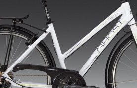 GHOST TR 1800 Lady white/grey/lime green 48 , 2012