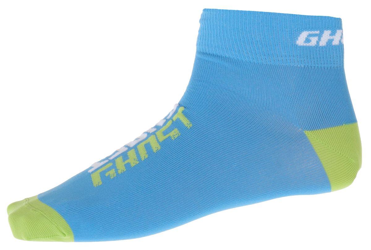 GHOST Ponožky blue / limegreen 43-45 , 2016