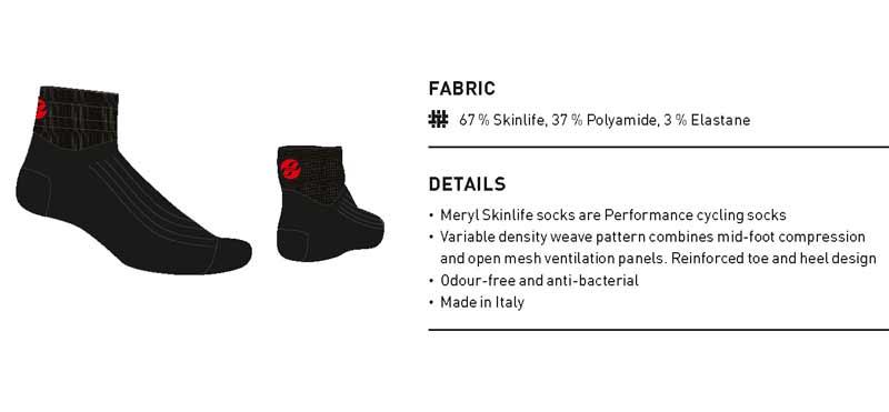 GHOST Ponožky black 43-45 , 2016