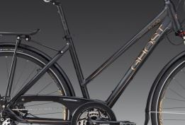GHOST TR 5700 Lady black/cooper/silver 48 cm , 2012