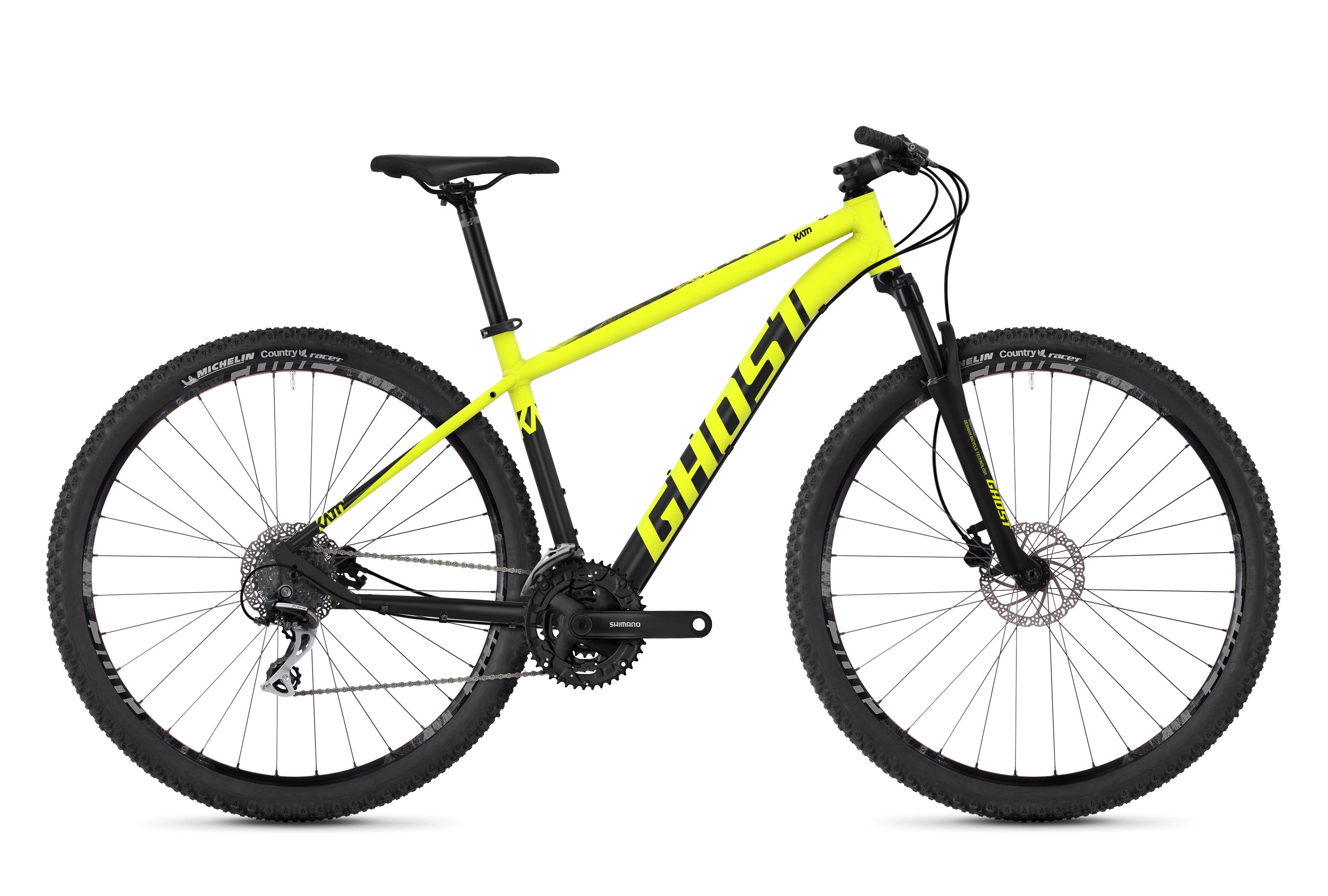 Horské kolo GHOST Kato 2.9 yellow / black S 2018