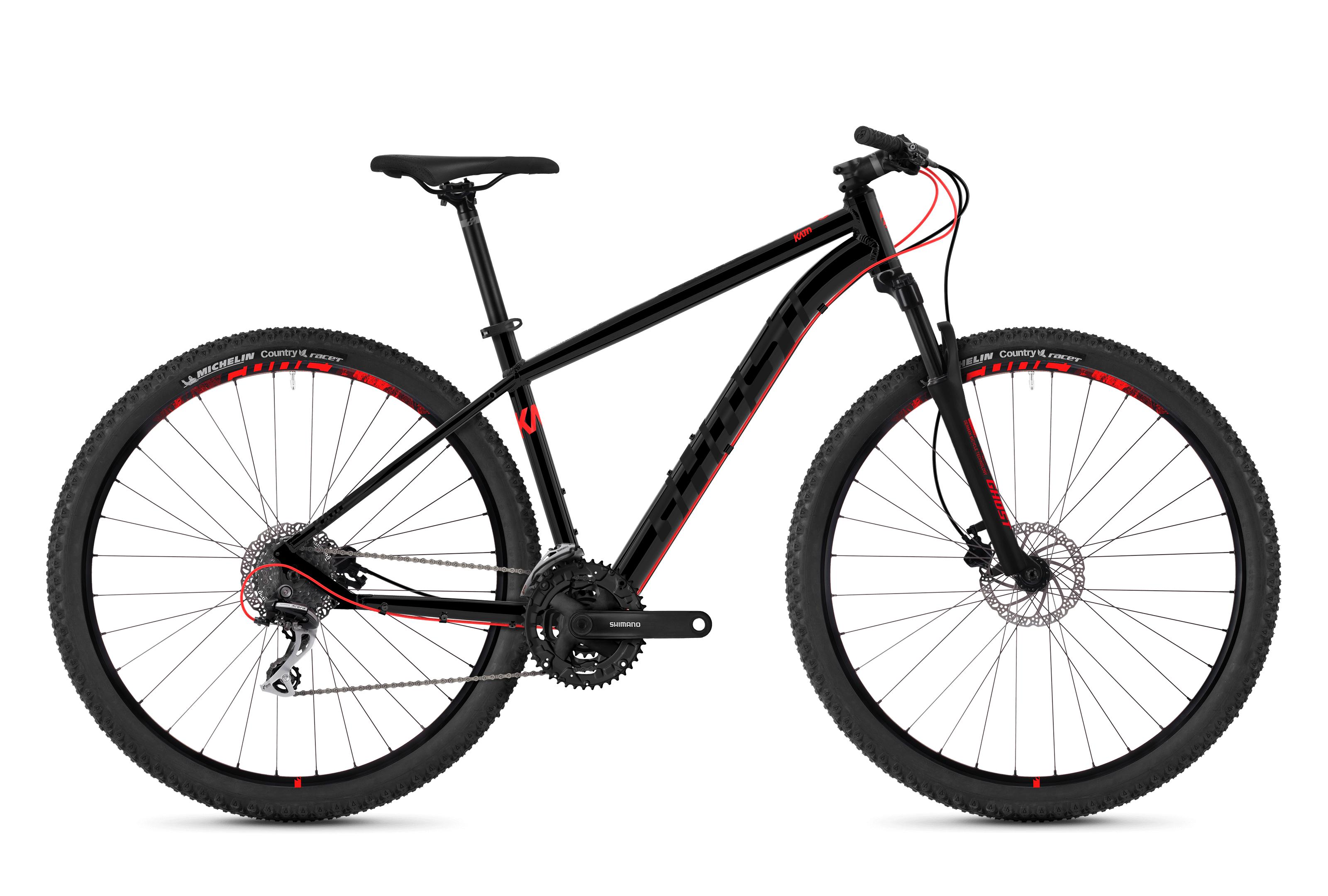 Horské kolo GHOST Kato 2.9 black / red XL 2018