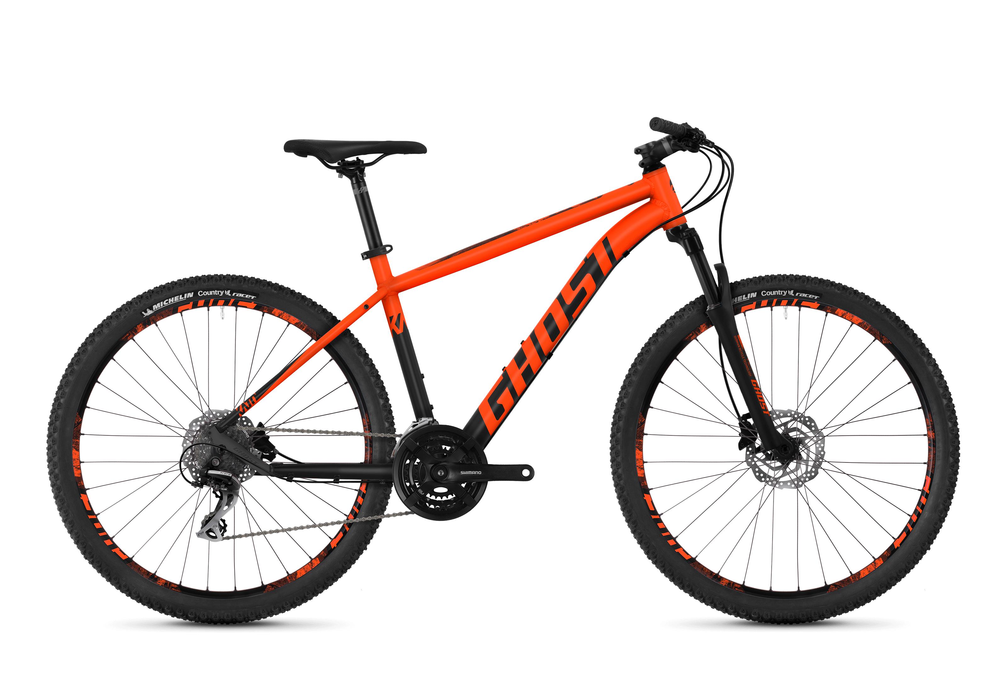Horské kolo GHOST Kato 3.7 orange / black XS 2018