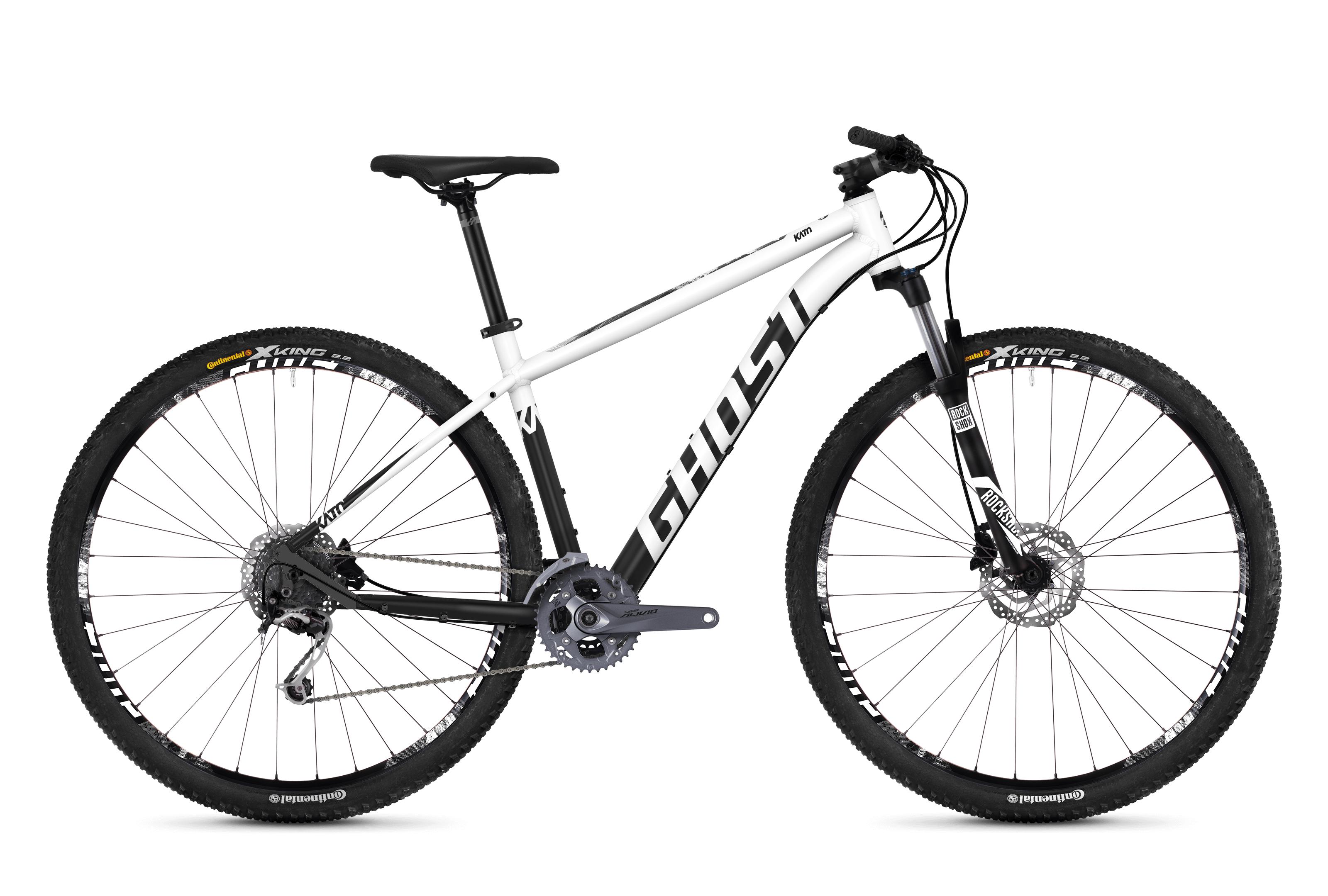 Horské kolo GHOST Kato 5.9 white / black XL 2018