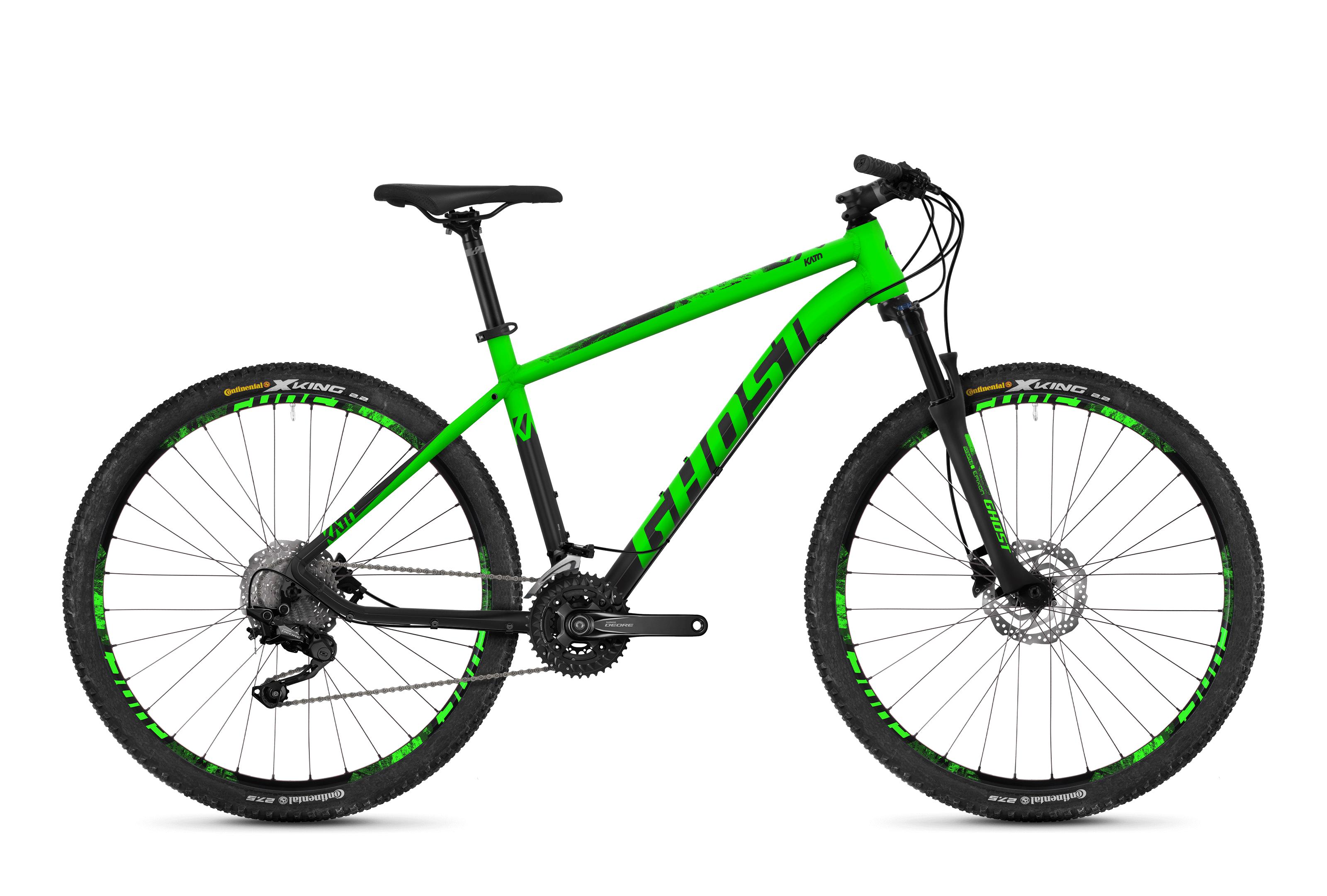 Horské kolo GHOST Kato 6.7 green / black S 2018
