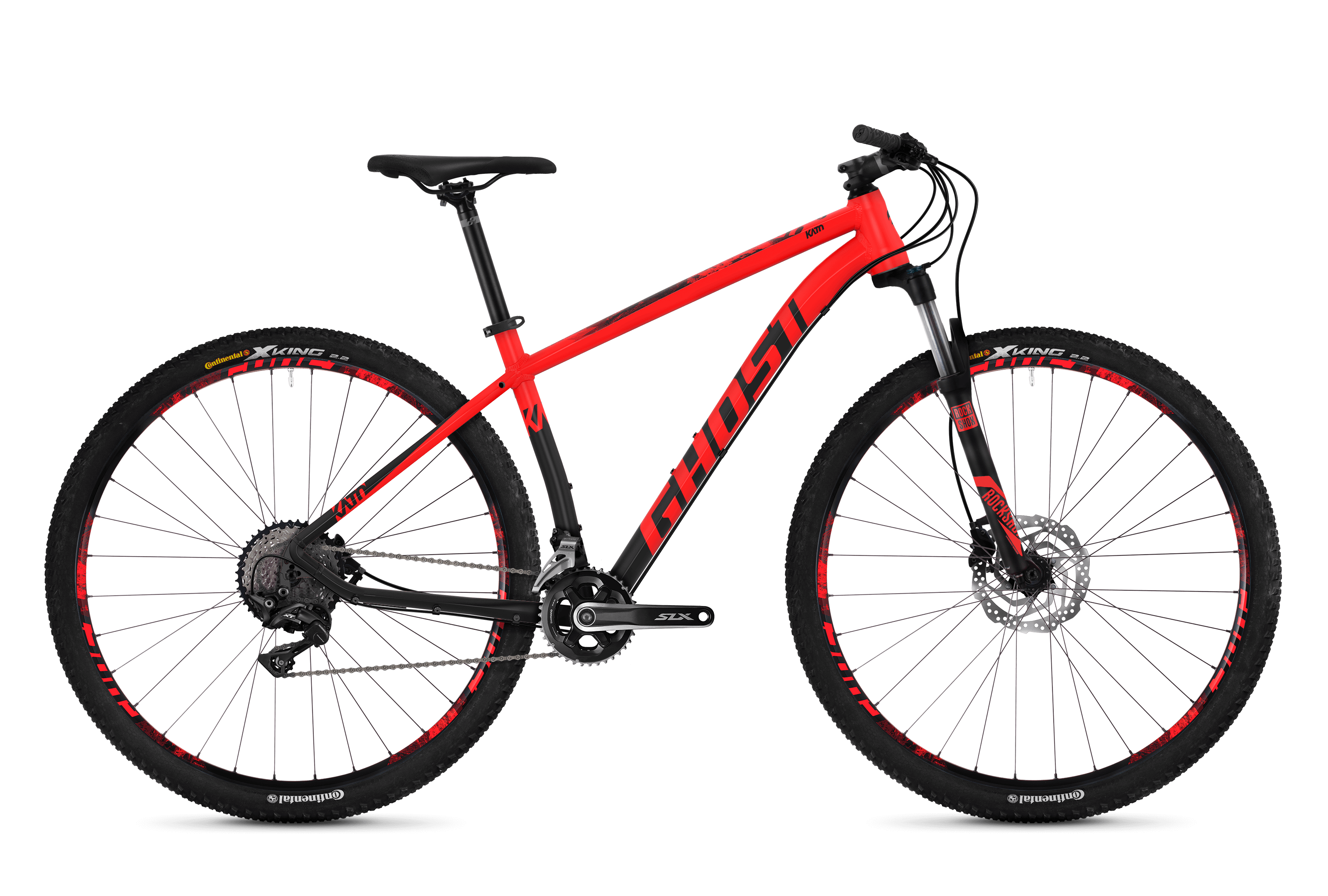 Horské kolo GHOST Kato 7.9 red / black XL 2018