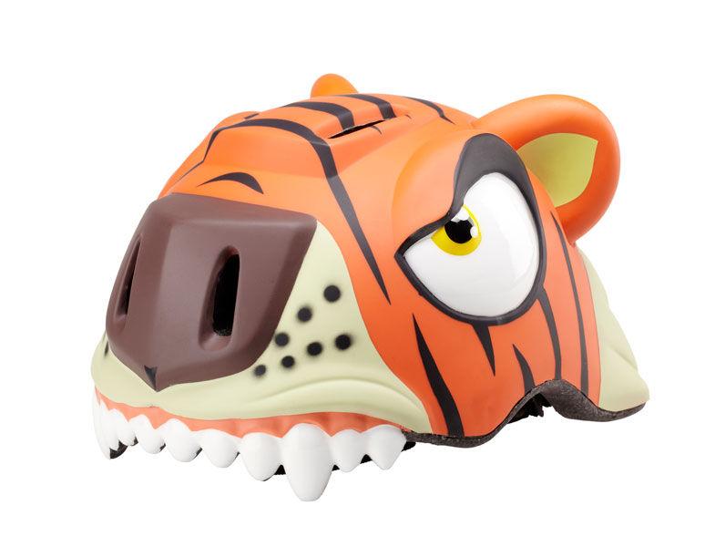 Crazy-stuff - dětská přilba na kolo tygr