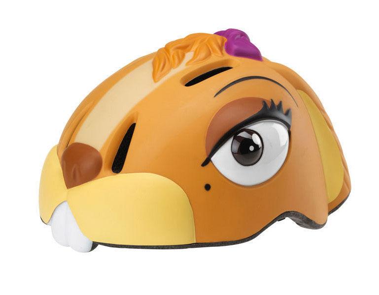 Crazy-stuff - dětská přilba na kolo čipmank