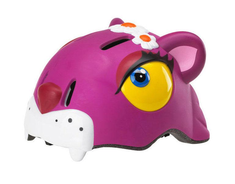 Crazy-stuff - dětská přilba na kolo kočka