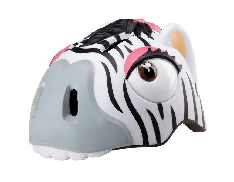 Crazy-stuff - dětská přilba na kolo zebra