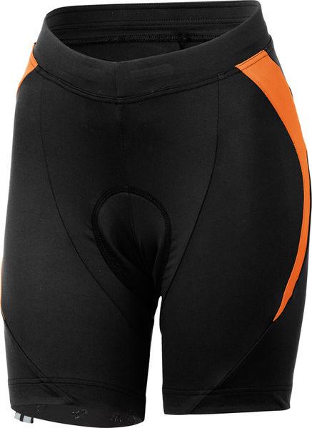 Castelli - dámské kalhoty Palmares Due, černá/oranžová