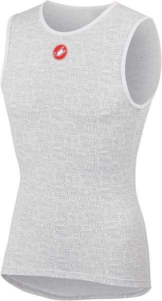 Castelli - pánské funkční prádlo Active Cooling, bílá