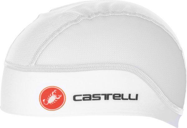 Castelli – čepice pod přilbu Summer, white