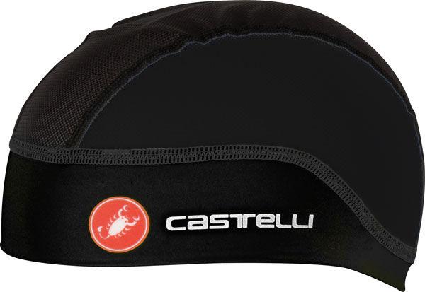 Castelli – čepice pod přilbu Summer, black