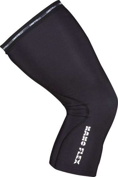 Castelli - návleky na kolena Nanoflex+, černá