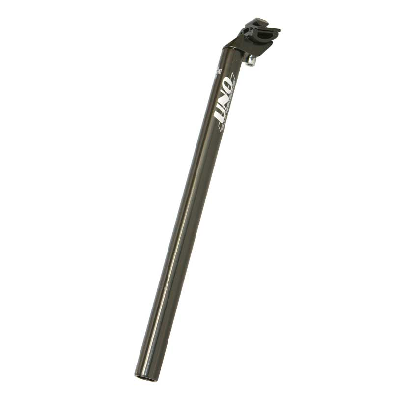 Sedlovka 31,6/400 mm Al, UNO se zámkem černá