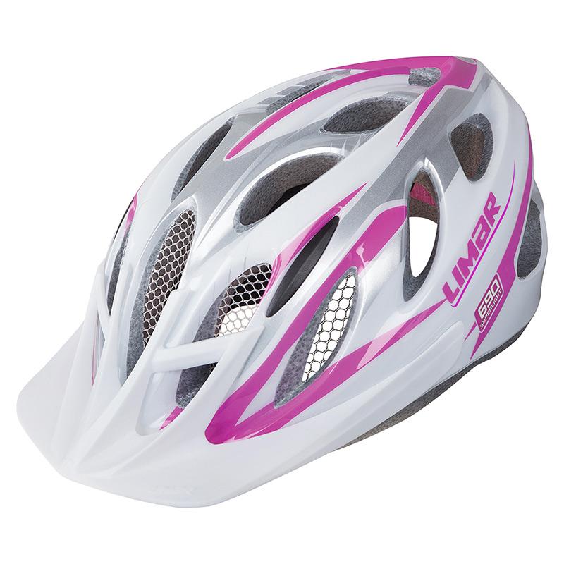 Přilba Limar 690 White Pink, L
