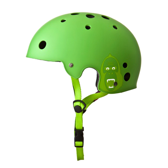 Přilba King Kong BMX zelená matná, L/XL