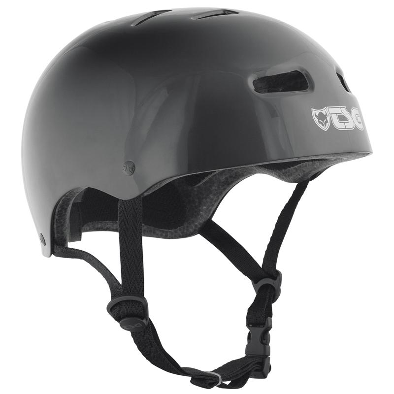 Přilba TSG Skate/BMX Injected Color černá, L / XL