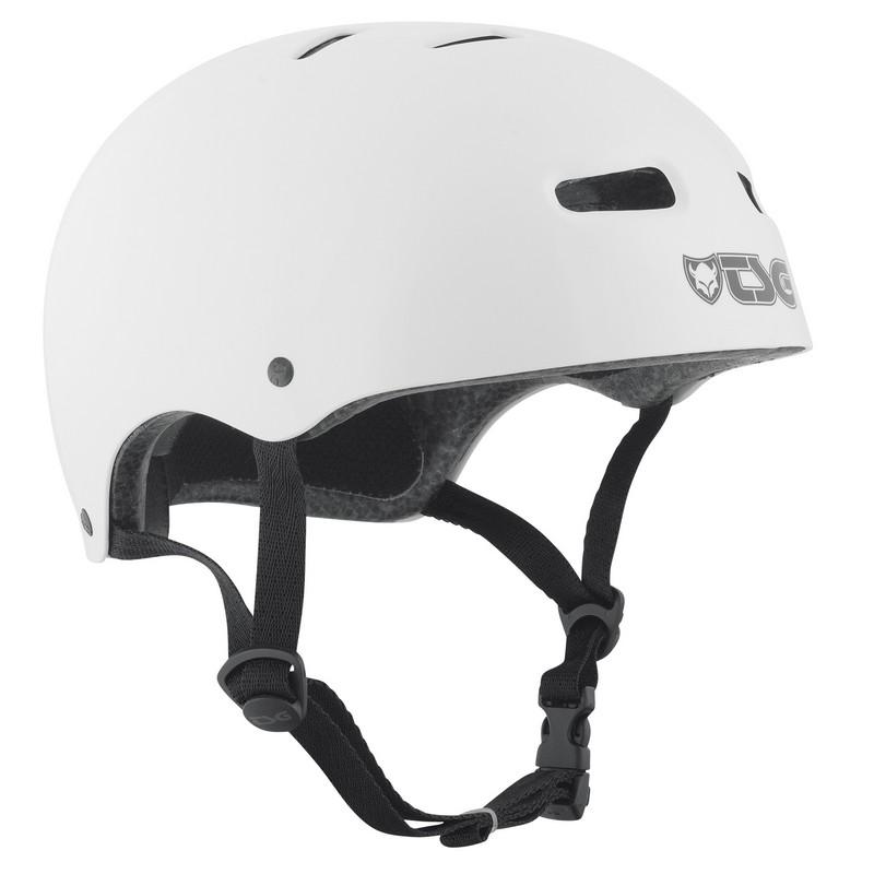 Přilba TSG Skate/BMX Injected Color bílá, L / XL