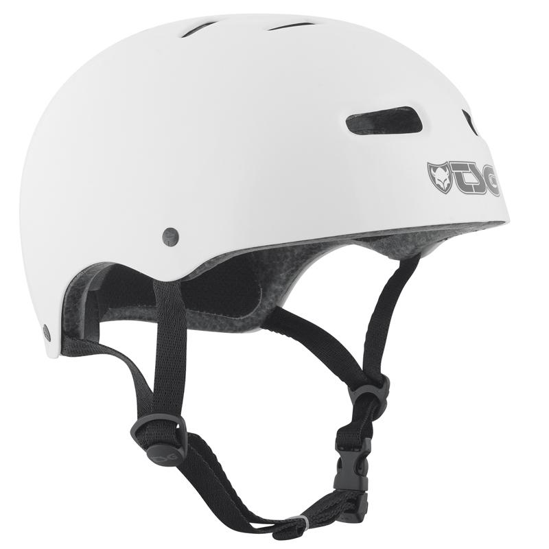 Přilba TSG Skate/BMX Injected Color bílá, S / M