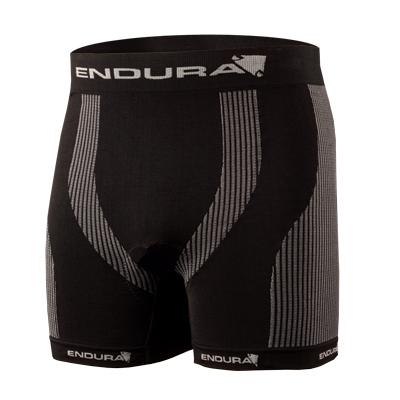 Endura Pánské boxerky s vložkou - černá - M