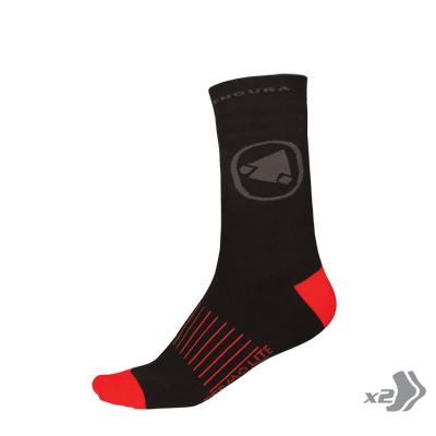 Zateplené Endura Ponožky Thermolite II (2-balení) Cerná L-XL