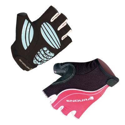 Krátkoprsté Endura Rapido rukavice dámské červená L