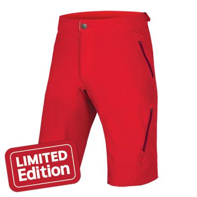 Kratasy Endura SingleTrack Lite II - červená - XL