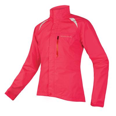 Hardshell Endura Gridlock II dámská bunda Svítive ružová M
