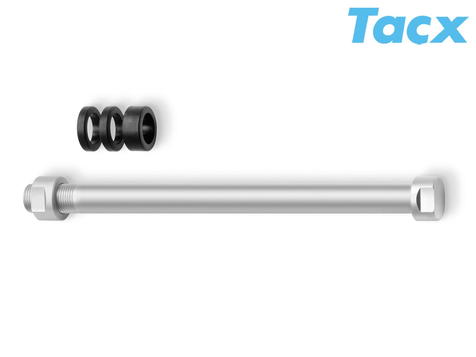 TACX Pevná osa M10x1 T1706 (stříbrná)